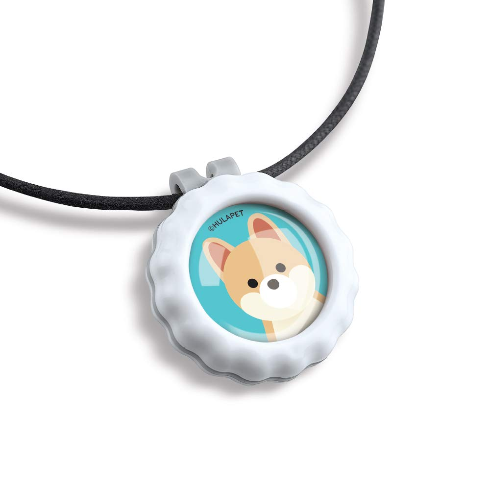 HOLDZOO Aromatherapy Necklace for Frightened, Stressed, Anxious Dog (Pomeranian Design)