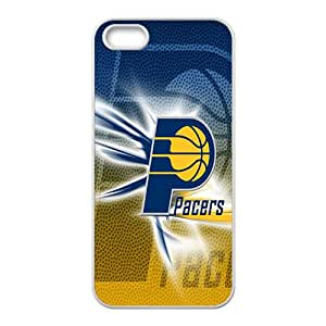 Indiana Pacers NBA White Phone Case for iPhone 5S Case