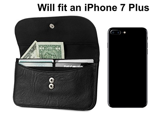 Mundi Womens Slim Flap Envelope Clutch RFID Blocking Wallet With Safe Keeper Technology (Navy) by Mundi (Image #3)