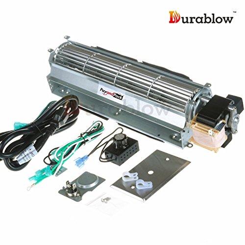 Heat And Glow Escape Fan Kit: BKT GA3650T GA3650TB GA3700T GA3700TA Fireplace Blower Fan
