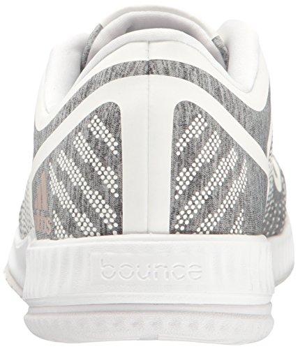 adidas Performance Frauen Athletics Bounce W Cross-Trainer Schuh Hellgrau Heather / Vapour Grey / White