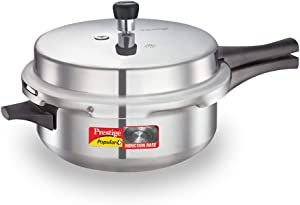 Prestige 10212 Popular Plus Induction Base Senior Deep Pan, 6 Litres