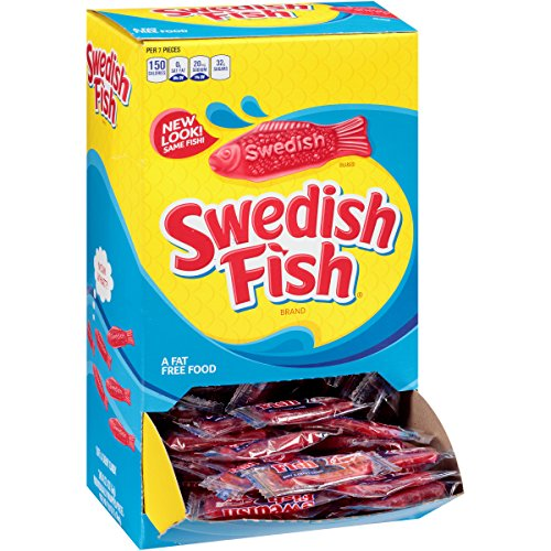 Swedish Fish 21 Individually Wrapped
