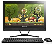 "Lenovo C40 All-In-One PC - 21.5"" Display, Intel Core i3-5005T, 4GB DDR3 RAM, 1TB HDD, Windows 10 - F0B400K6US"