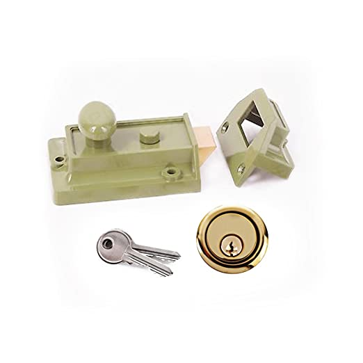 ERA Fortress BS 3621 5 Puntos, 64 mm Cerradura encastrable de m/áxima Seguridad Importado de Reino Unido Color lat/ón