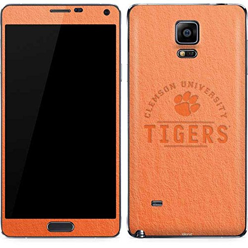 Clemson University Galaxy Note 4 Skin - Clemson University Tigers Vinyl Decal Skin For Your Galaxy Note 4 Clemson Tigers Note