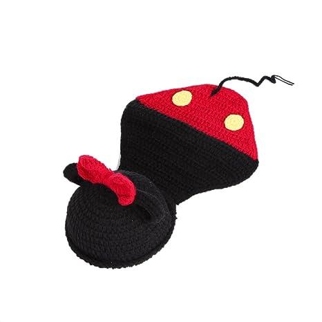 Y-BOA-Disfraz de bebé disfraz mm, negro, Mignon-Sombrero, gorro ...