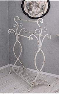 Handtuchständer Landhausstil Handtuchhalter Handtuchstange Metallständer Bad Badzubehör & -textilien