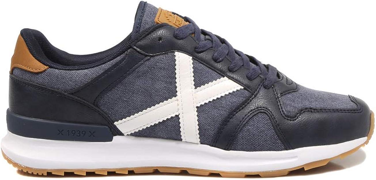 Munich Alpha 39 Marino Zapatillas para Hombre: Amazon.es: Zapatos y complementos