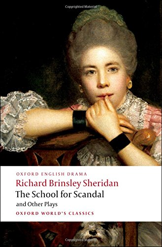 essays on sheridans school for scandal Understanding drama has 2 available editions  one-stop shop for all your back to school needs  and firm beliefs of william faulkner: essays by cleanth brooks.