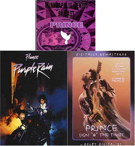Prince - Sign 'O' the Times/Purple Rain/Minneapolis Genius - 94 East (3 Pack) (On Dvd Rain Movies Purple)