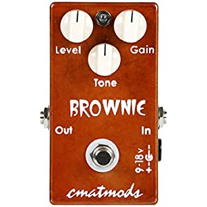 CMATmods Brownie Distortion Pedal