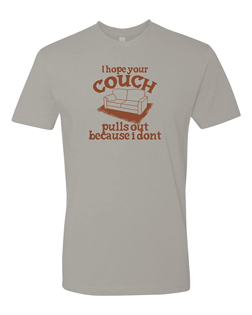 b78c9d2c4 Amazon.com: Panoware Men's Offensive T-Shirt | I Hope Your Couch Pulls Out,  Light Grey, XXX-Large: Clothing