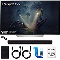 LG OLED55C7P - 55' C7 OLED 4K HDR Smart TV w/LGSH7B 4.1ch Wi-Fi Sound Bar Bundle