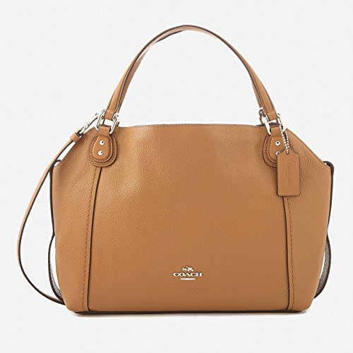 Coach Women's Edie 28 Shoulder Bag - Light Saddl