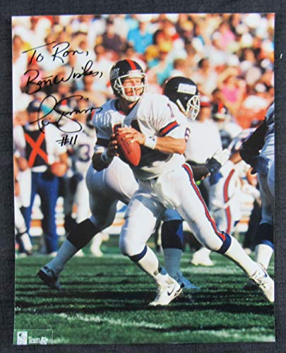 - Phil Simms Signed Auto Autograph 8x10 Photo II