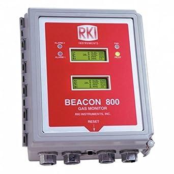 Amazon.com: RKI Instrumentos Beacon 800 Ocho Channel Fixed ...