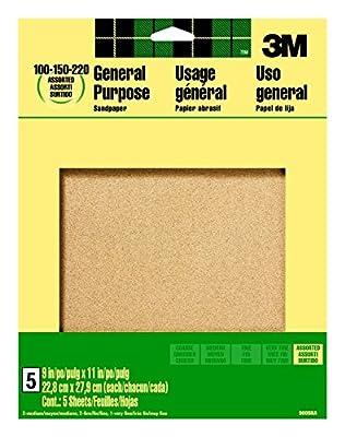 3M 9000NA-20-CC Sandpaper Aluminum Obyide