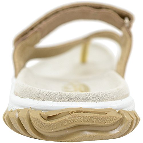Ladies / Womens Real Leather Suede Summer / Holiday / Beach Sandals / Shoes Beige Naxzu