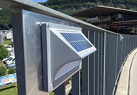Wasserdichte LED Solar Lampe für den Außenbereich, Garten?Zaun ...