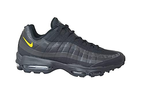 wholesale dealer 26327 26dd1 Nike Mens - Air Max 95 Ultra - Black Marcello Anthracite - UK 8