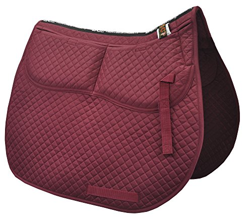 n All Purpose Saddle Pad (Burgundy) ()