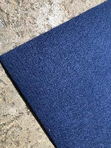 100 x 200 cm 1,50/€//m/² Bodenbelag Schwer Entflammbar Nadelfilz f/ür Events und Messen Blau 200 cm Breite