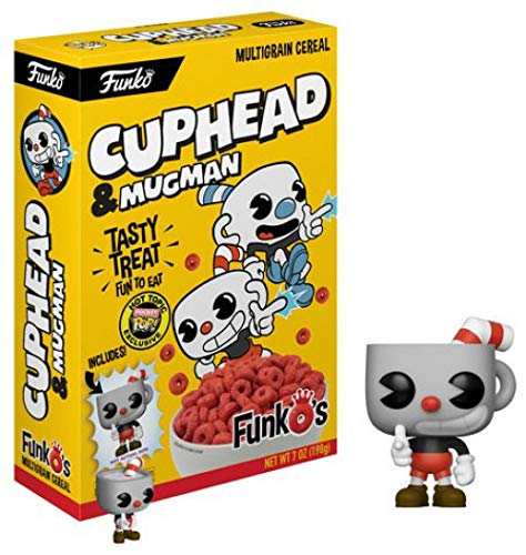 Funko Cuphead FUNKO'S Cereal with POCKET POP inside