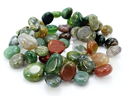 AAA Natural Indian Agate Gemstones Smooth Teardrop Loose Beads Free-form ~18x10mm beads ( ~16