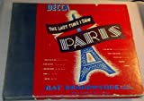 The Last Time I Saw Paris: Nat Brandwynne: 78 RPM Records