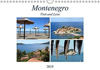 Montenegro - Visit and Love (Wandkalender 2019 DIN A4 quer): Montenegro ist ein Land der Kontraste, auf der einen Seite befindet sich die Adria mit ... (Monatskalender, 14 Seiten ) (CALVENDO Orte)