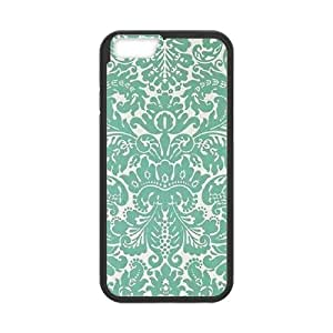 """FLYBAI Painted Flower Phone Case For iPhone 6 Plus (5.5"""") [Pattern-1]"""