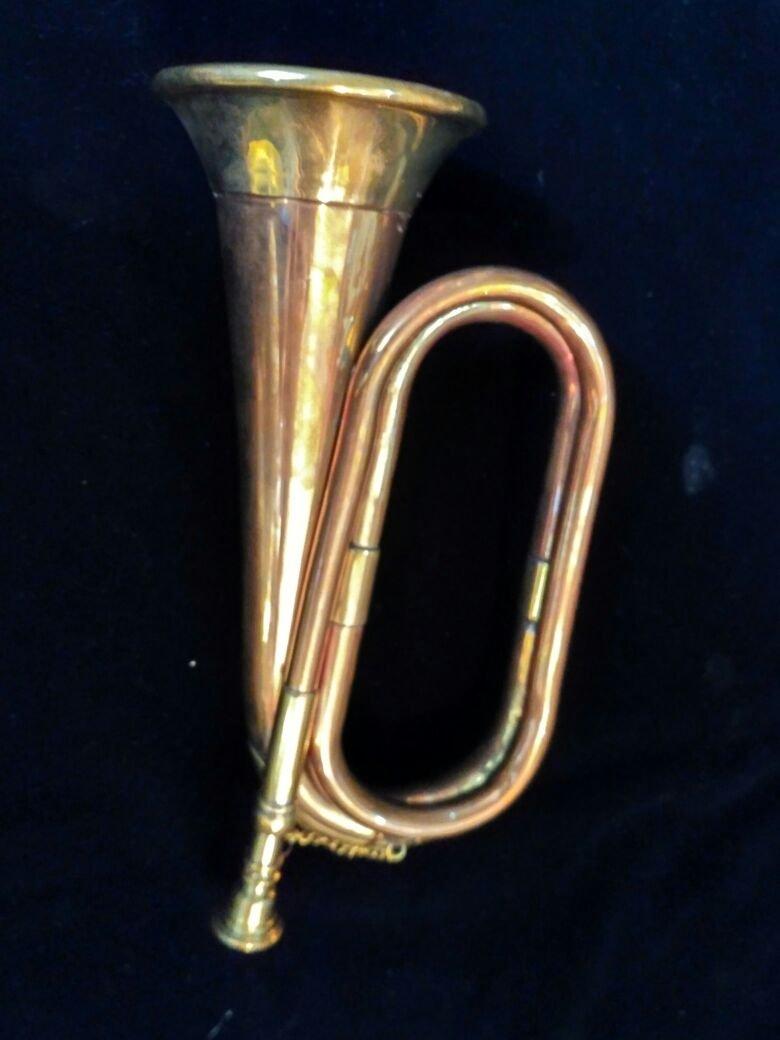 Surbhi Music Bronze Look Copper Colour Army Military Bugle