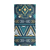 Scarfs for Women Mexican Africa Art Vintage Lightweight Fashion Long Shawl Wraps