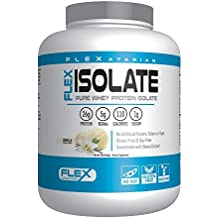 Flexatarian Flex Isolate-Whey Protein Isolate, Vanilla, 5 Lb.