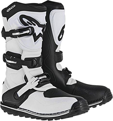 Botas Mx Alpinestars 2017 Tech-T Blanco-Negro (Eu 43 / Us 9 , Blanco)