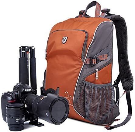 YAAGLE Oxford Light Weight Oxford Anti-Splash Anti-Theft DSLR Gadget Camera Bag Professional Gear Photography Travel Backpack Rucksack for Canon Nikon Sony Nikon Olympus