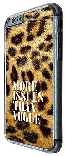 398 - More issue Then Vogue Lepord print background Design iphone 6 PLUS / iphone 6 PLUS S 5.5'' Coque Fashion Trend Case Coque Protection Cover plastique et métal