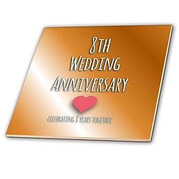 3drose Ct 154439 4 8 Hochzeitstag Gift Bronze 8 Jahre Zusammen