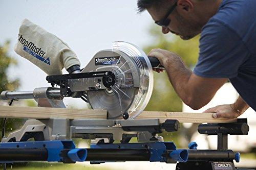 """Delta S26-263L Shopmaster 10"""" Slide Miter Saw with Laser"""