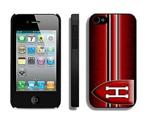 Harvard Crimson Iphone 4 4S Hard Cover Case 37419