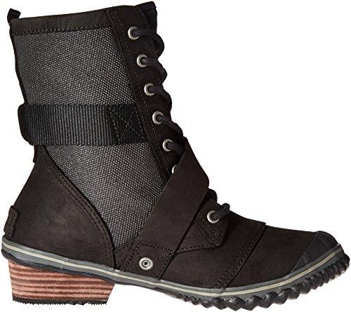Sorel Slimboot Spets Boot - Kvinna Svart / Mörkgrå