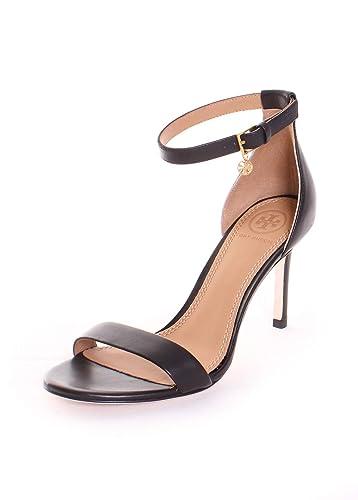 de07d1e2a6a Tory Burch Ellie 85MM Ankle Strap Pump (6.5) Perfet Black