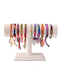 KELITCH Bohemia Tassels Friendship Bracelet Handmade Beaded Charm Bangles New Jewelry 10 PCS
