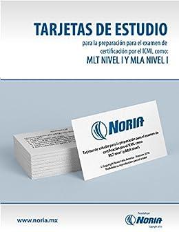 amazon com tarjetas de estudio mlt i y mla i spanish edition