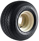 Kenda Hole-N-1 Stone Beige 8'' x 7'' 4-Hole Wheel and (18/8.50-8) Tire Combination