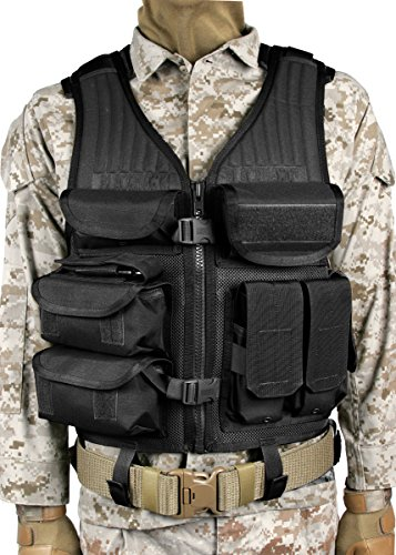 BLACKHAWK! Omega Elite Tactical Vest EOD - Black