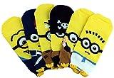 Dasom Lovely Cute Women Boy Love Character Cartoon Socks (Minions 6Set)
