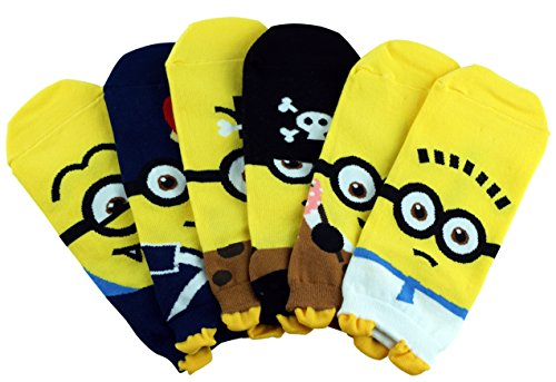 Cute Character Cartoon Socks Minions