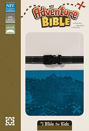 NIV, Adventure Bible, Imitation Leather, Gray/Blue